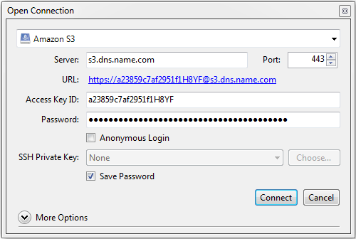 2 2  Accessing S3 Storage with CyberDuck